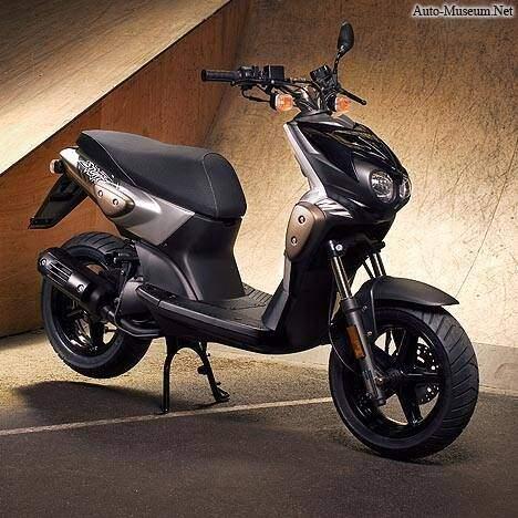2009 MBK Booster 12 inch Naked - Moto.ZombDrive.COM