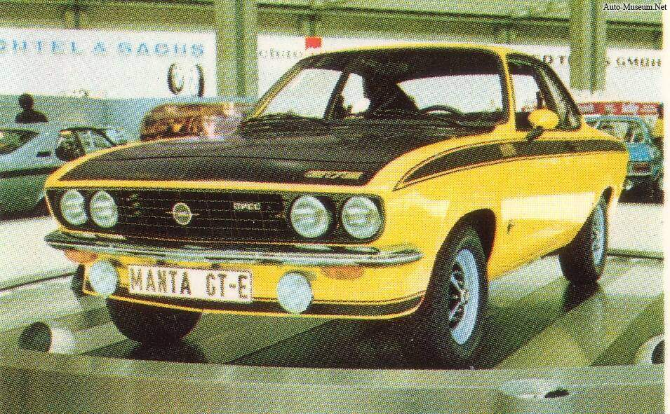 Opel Manta GT/E (A) (1974-1975),  ajouté par bef00