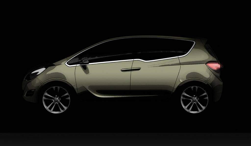 Opel Meriva Concept (2008),  ajouté par fox58
