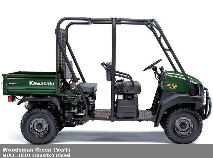 Kawasaki Mule 3010 Trans4x4 (2007),  ajouté par MissMP