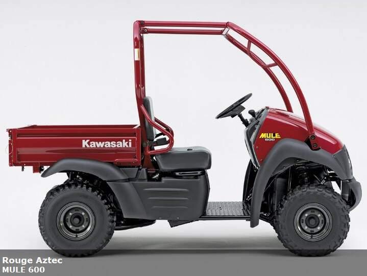 Kawasaki Mule 600 (2007),  ajouté par MissMP