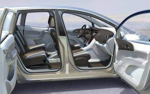 Opel Meriva Concept (2008),  ajouté par choupette53