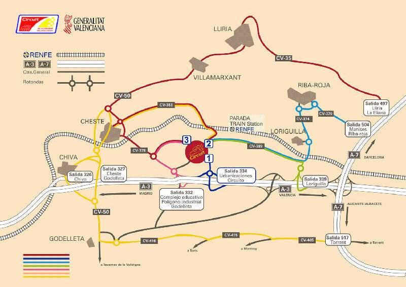Circuit de la Comunitat Valenciana Ricardo Tormo,  ajouté par MissMP
