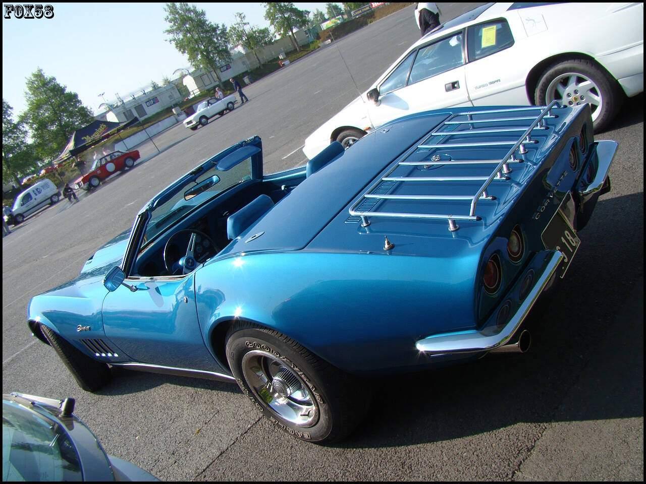 fiche technique chevrolet corvette c3 convertible 427ci 400 1968 1969. Black Bedroom Furniture Sets. Home Design Ideas