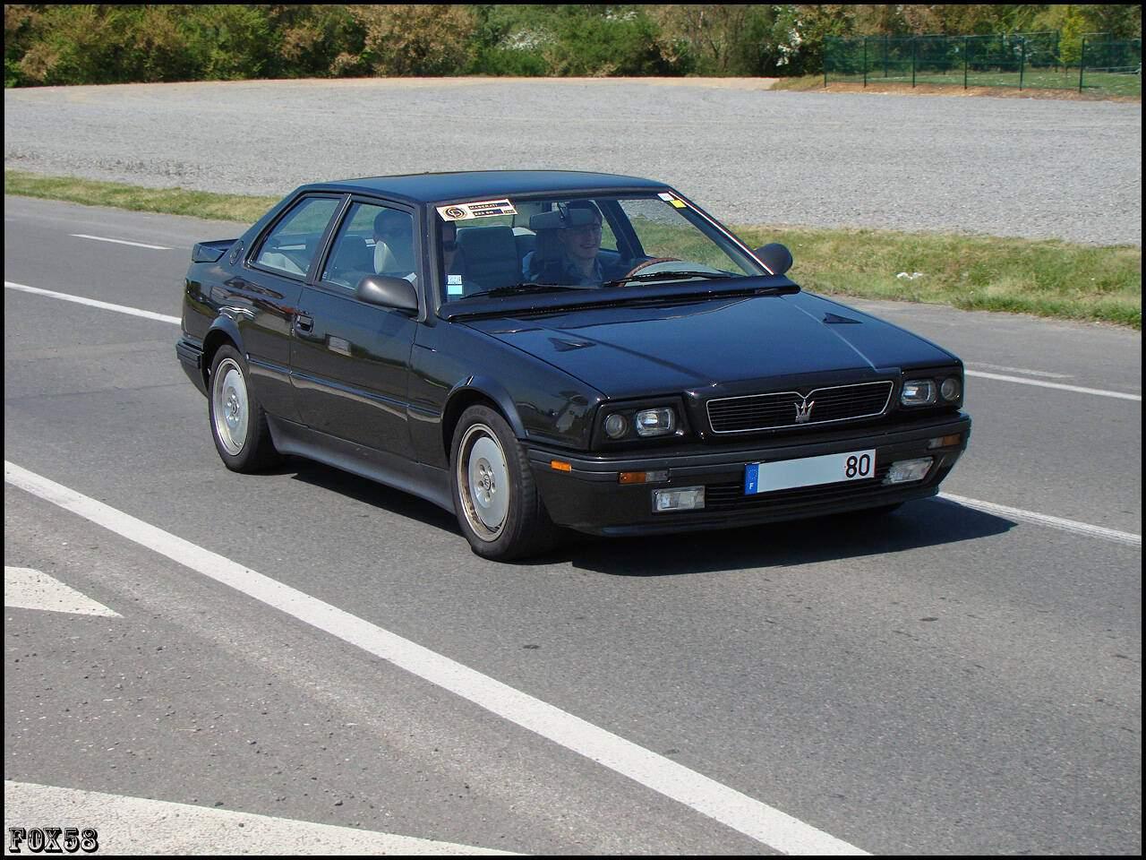 Fiche technique Maserati 222 SR (1991-1993)