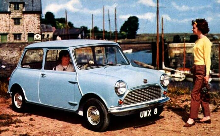 Seven X Motors >> Fiche technique Austin Mini 850 (1959-1986)