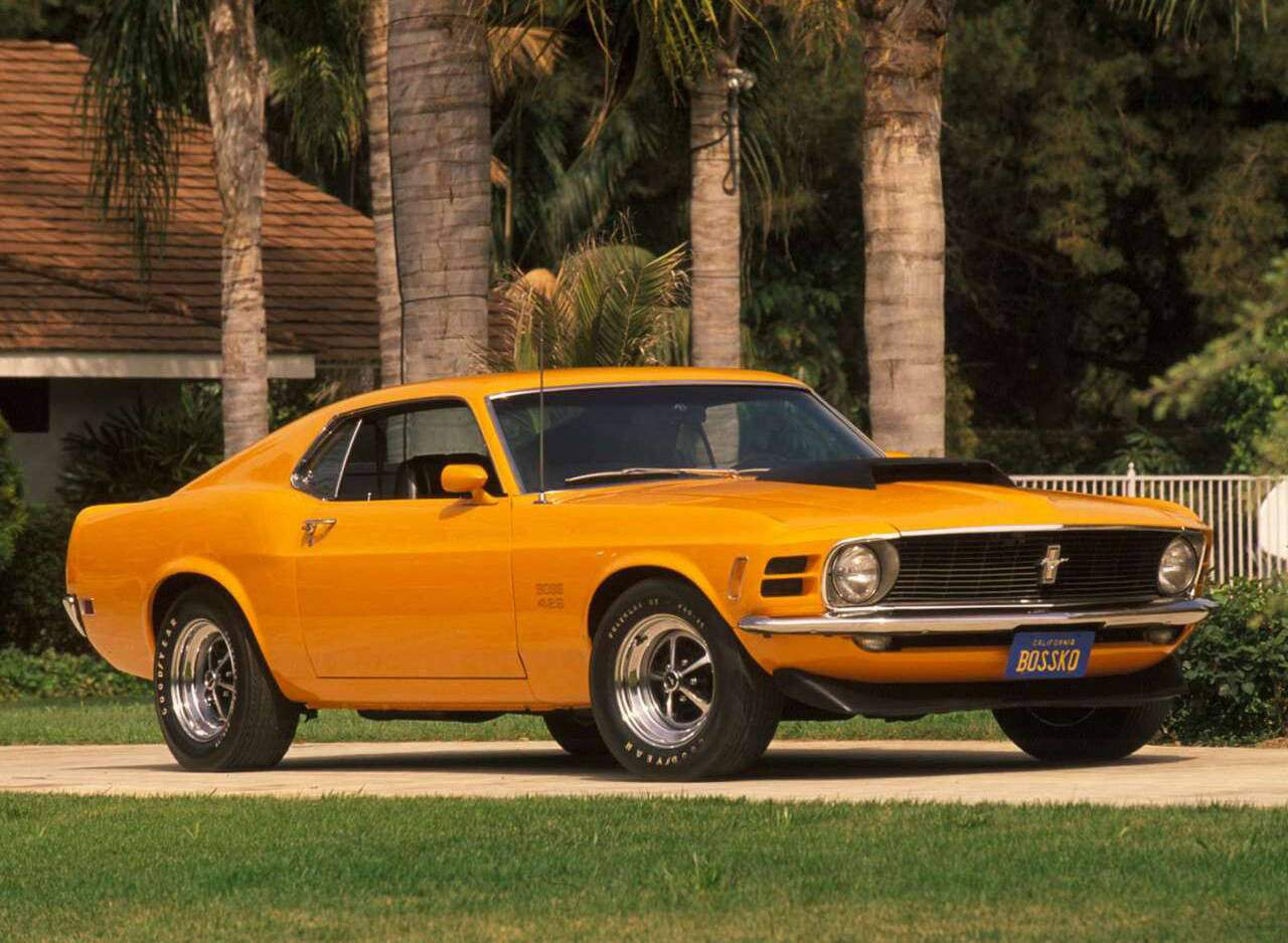 fiche technique ford mustang boss 429 1969 1970. Black Bedroom Furniture Sets. Home Design Ideas