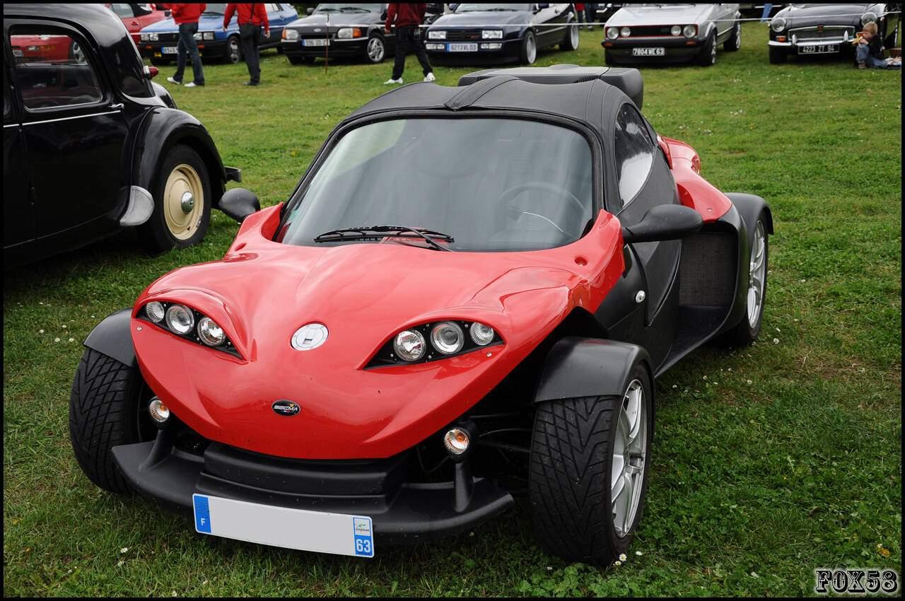 fiche technique secma f16 roadster  2009