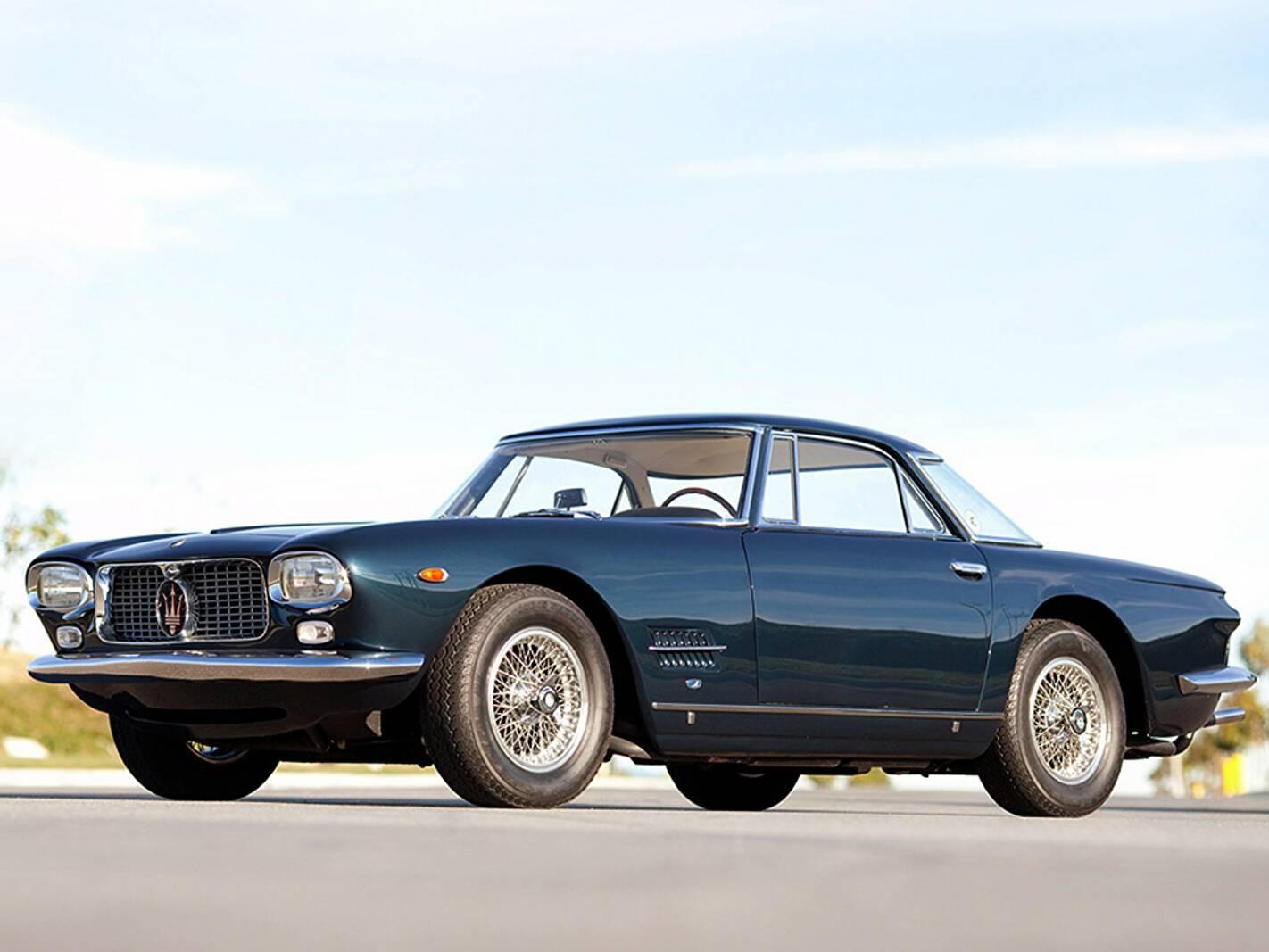 Fiche technique Maserati 5000 GT (1959-1964)