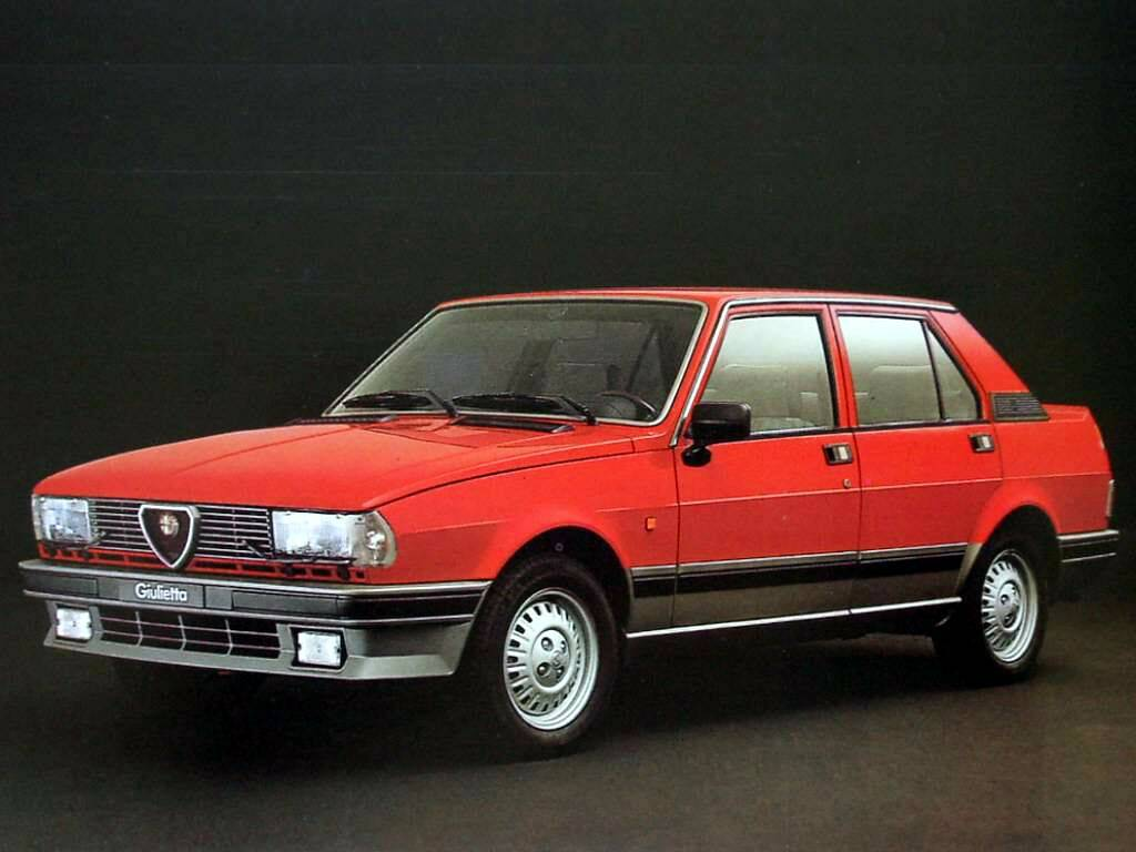 fiche technique alfa romeo giulietta ii 2 0 1982 1985. Black Bedroom Furniture Sets. Home Design Ideas
