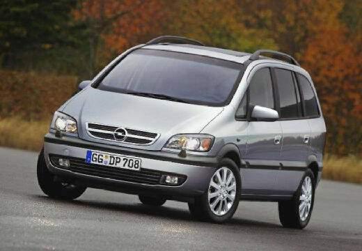 Opel Zafira 1.8 16v (2002-2005),  ajouté par fox58