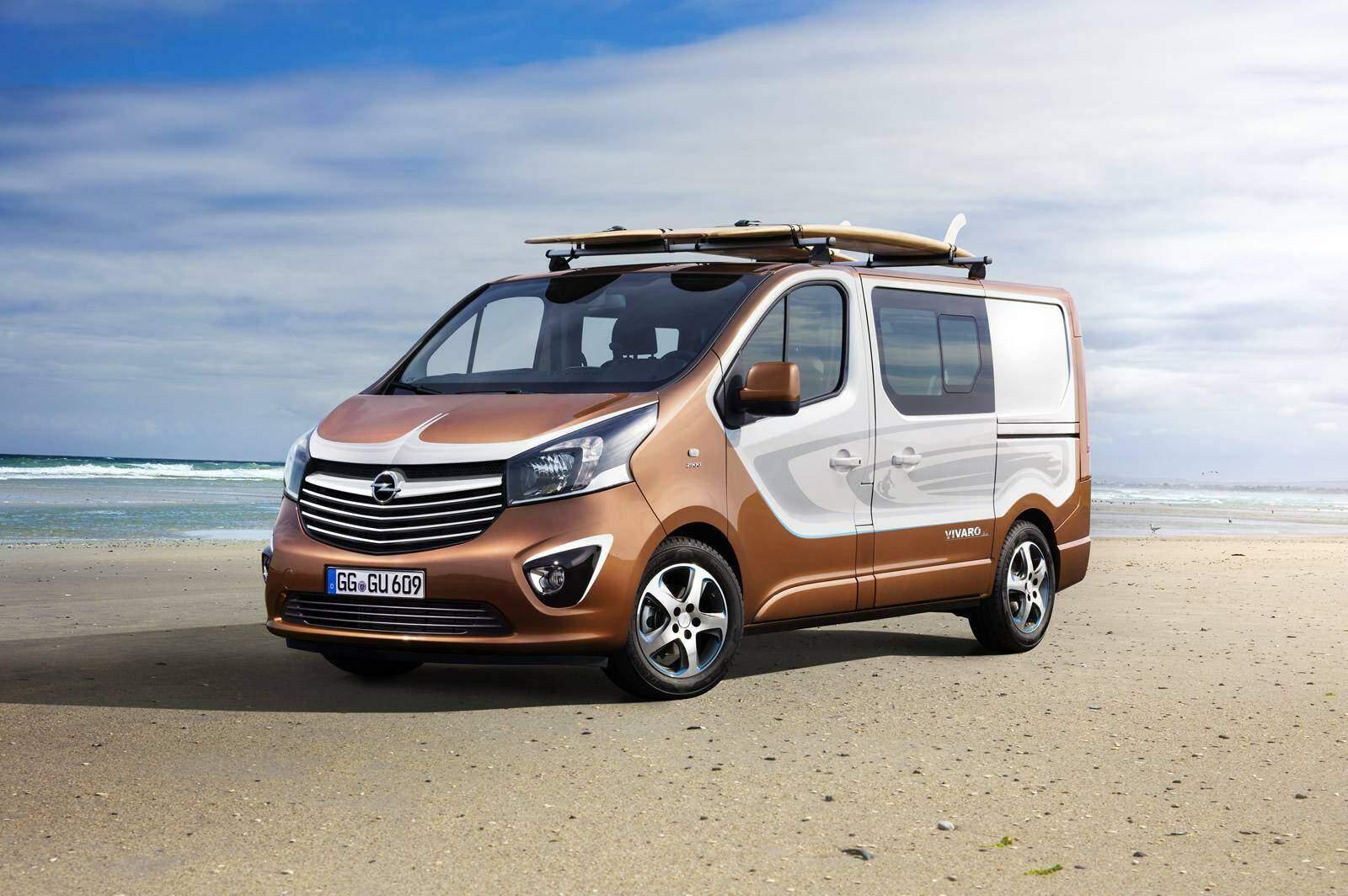 Opel Vivaro Surf Concept (2015),  ajouté par fox58