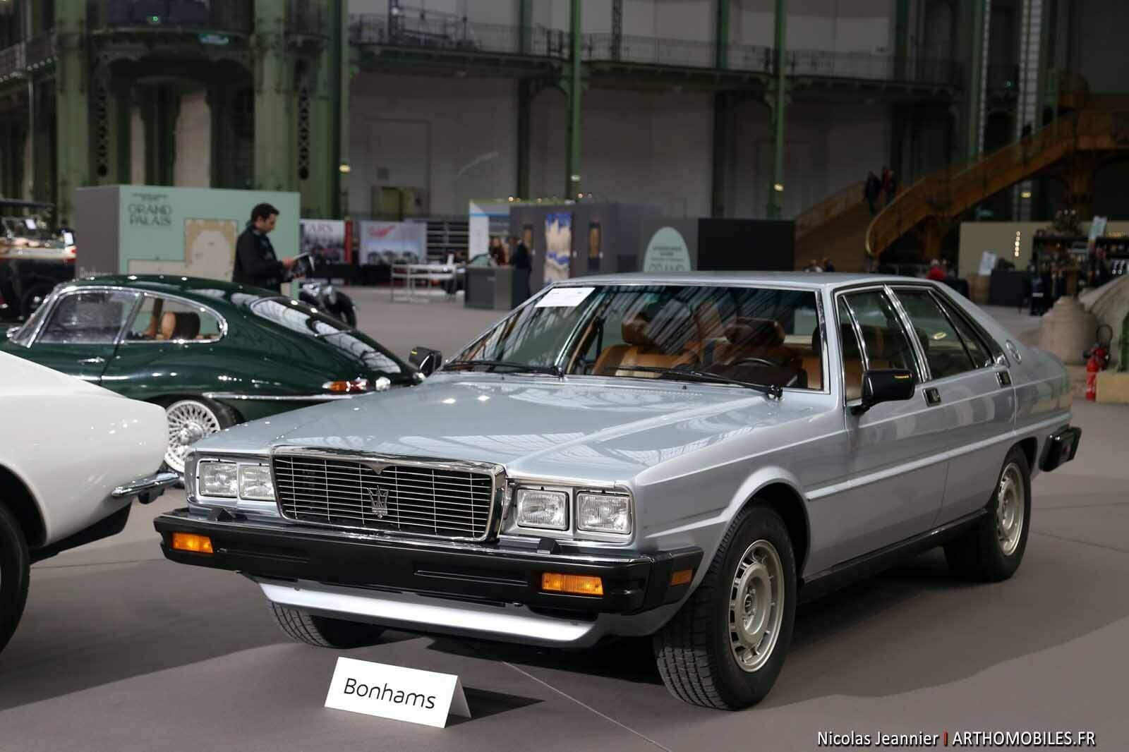 Fiche technique Maserati Quattroporte III 4.9 V8 (1979-1986)