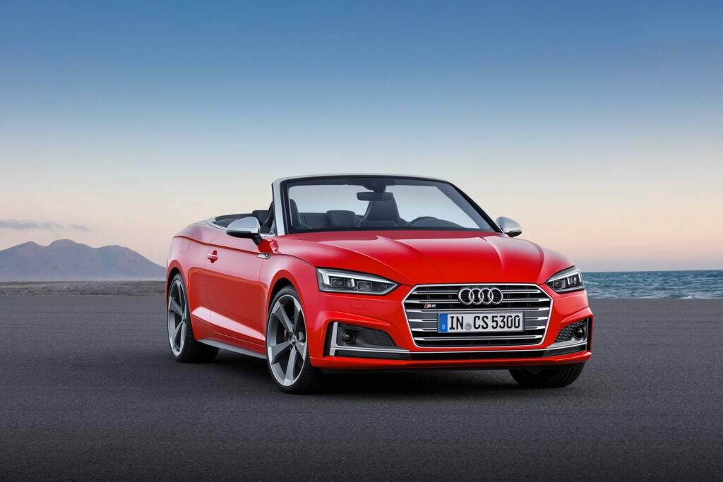 fiche technique audi s5 ii cabriolet 2017. Black Bedroom Furniture Sets. Home Design Ideas