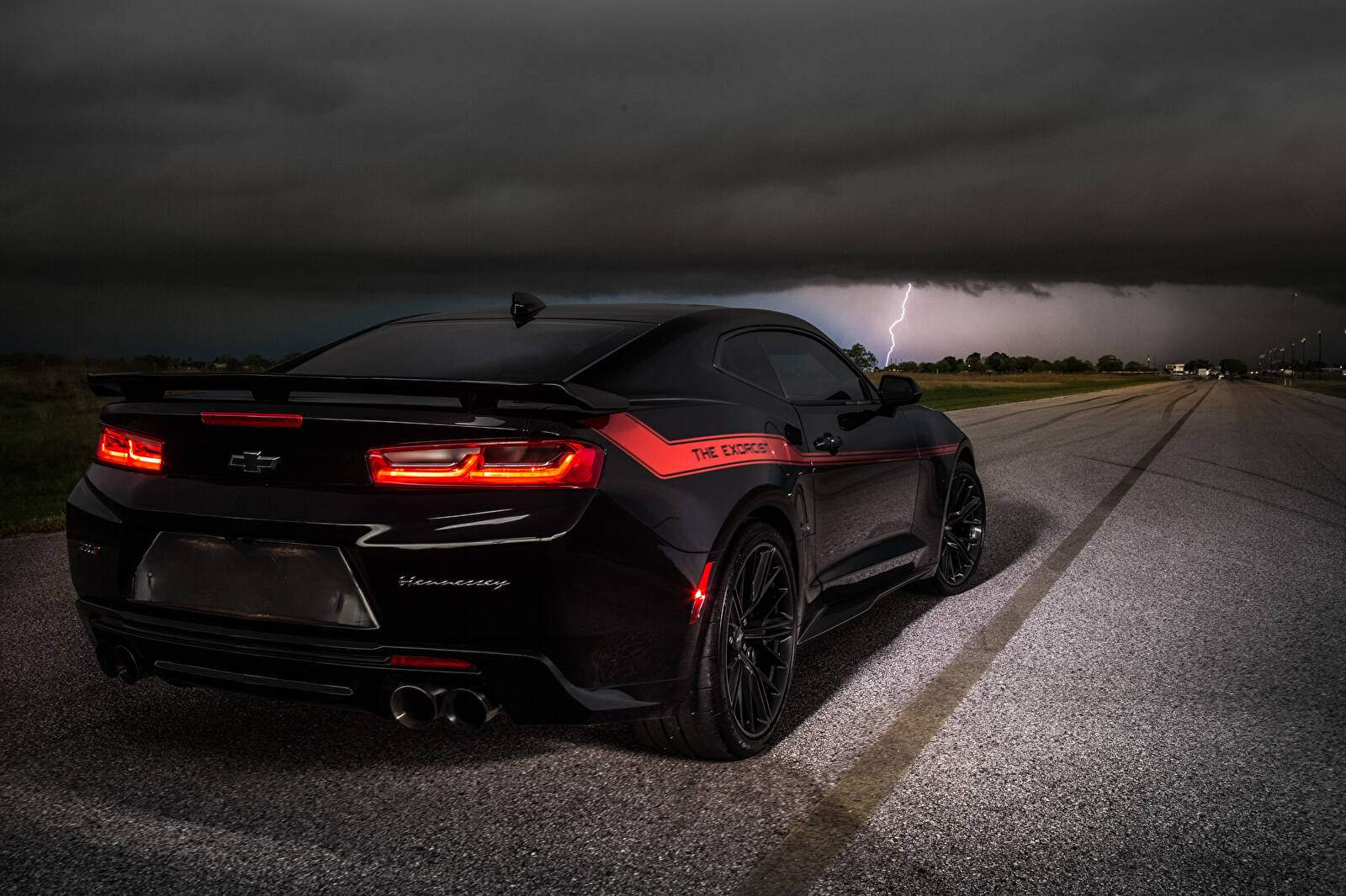 Hennessey Camaro The Exorcist 1000 Chevaux
