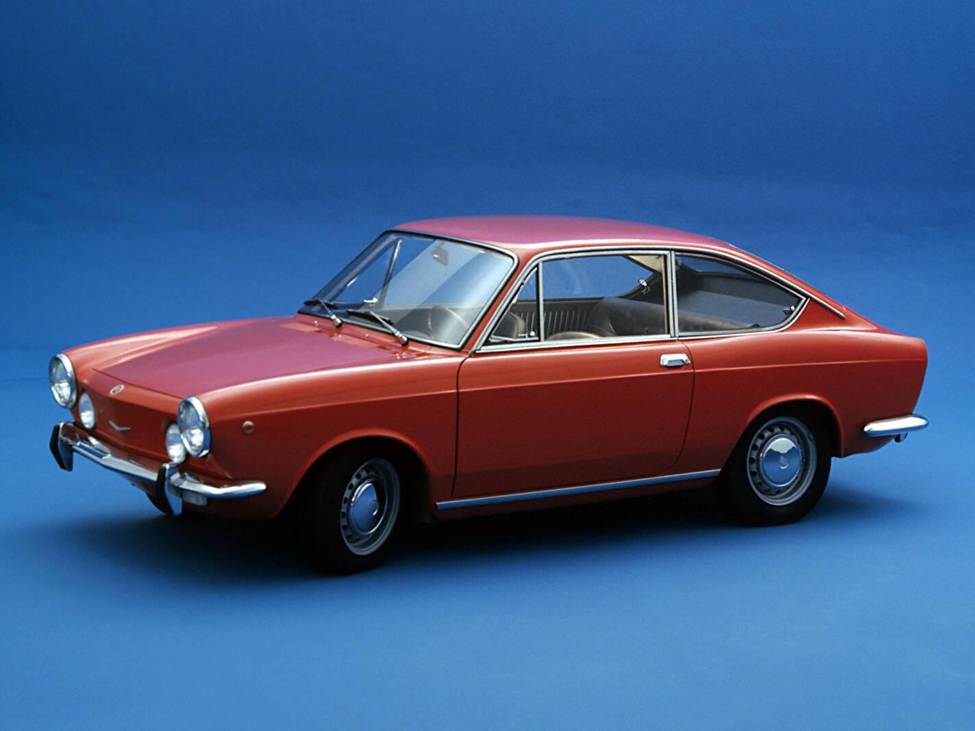Fiche Technique Fiat 850 Sport Coup U00e9  1968