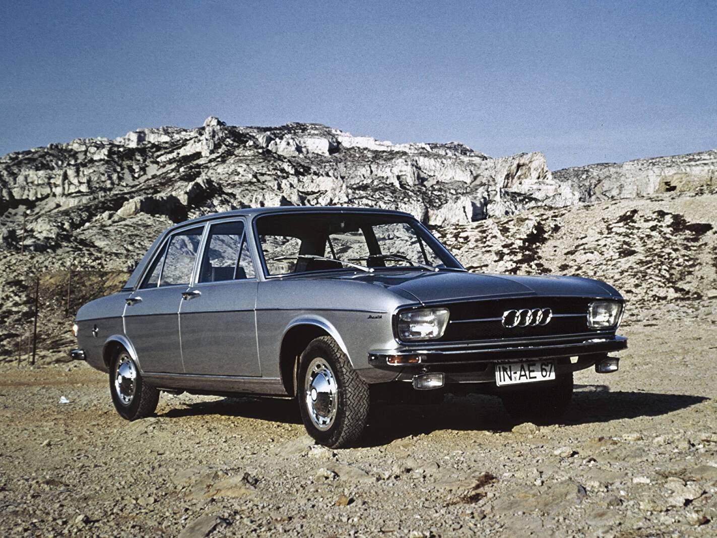 Fiche technique Audi 100 LS (1968-1976)