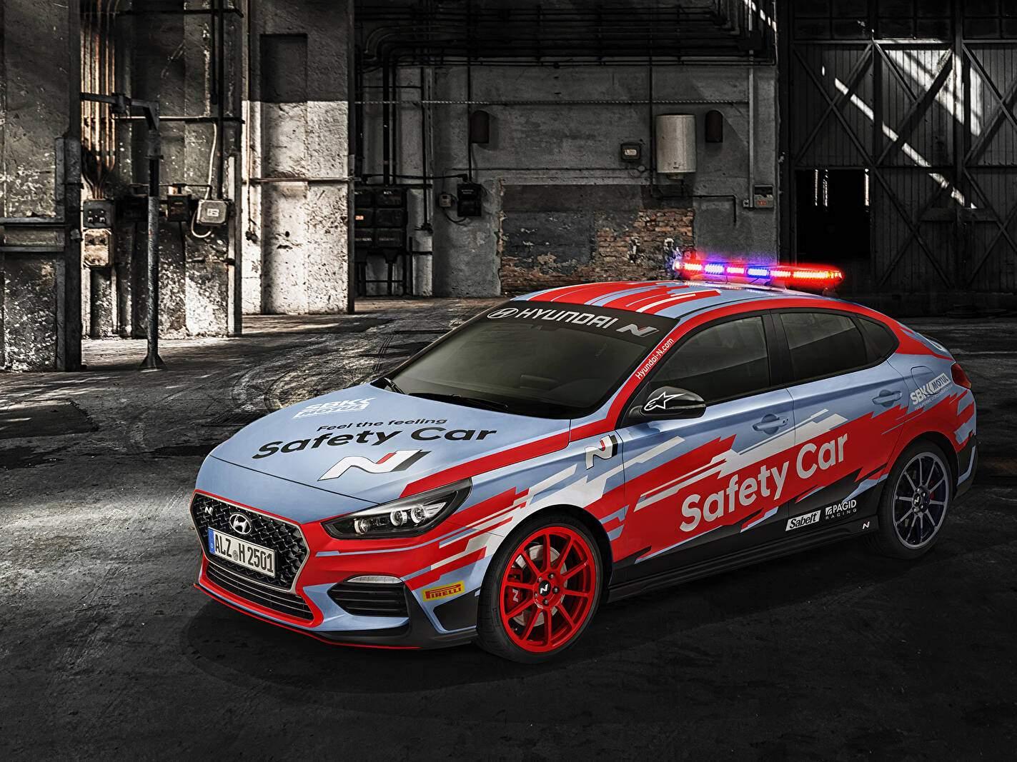 Hyundai i30 III Fastback N Performance (PD) « SBK Safety Car » (2019),  ajouté par fox58
