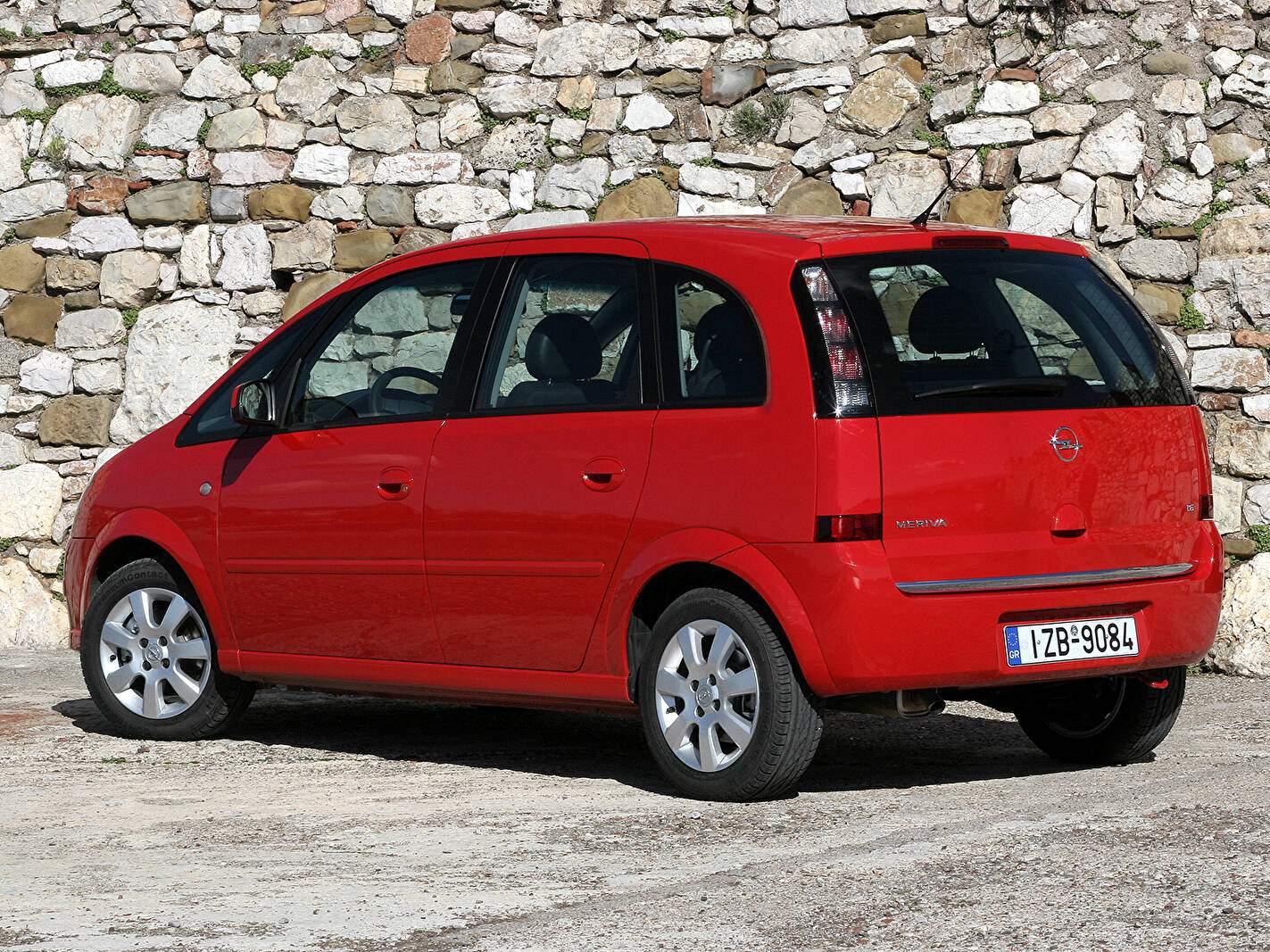 Opel Meriva 1.6 Twinport 105 (2005-2009),  ajouté par fox58