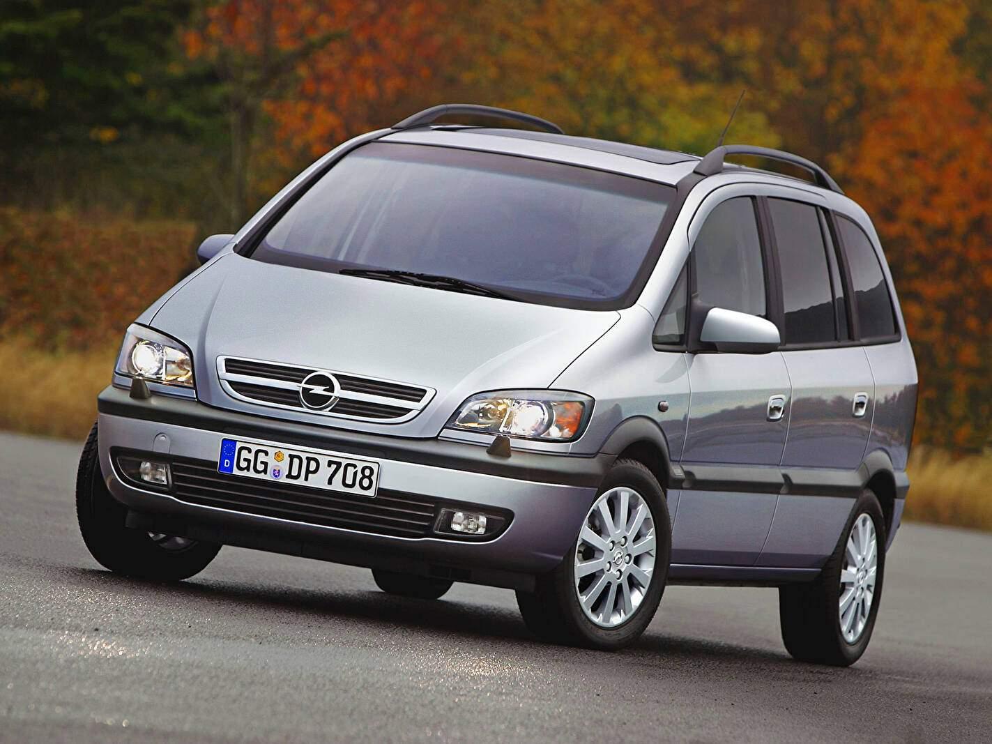 Opel Zafira 2.2 DTI 125 (2001-2005),  ajouté par fox58