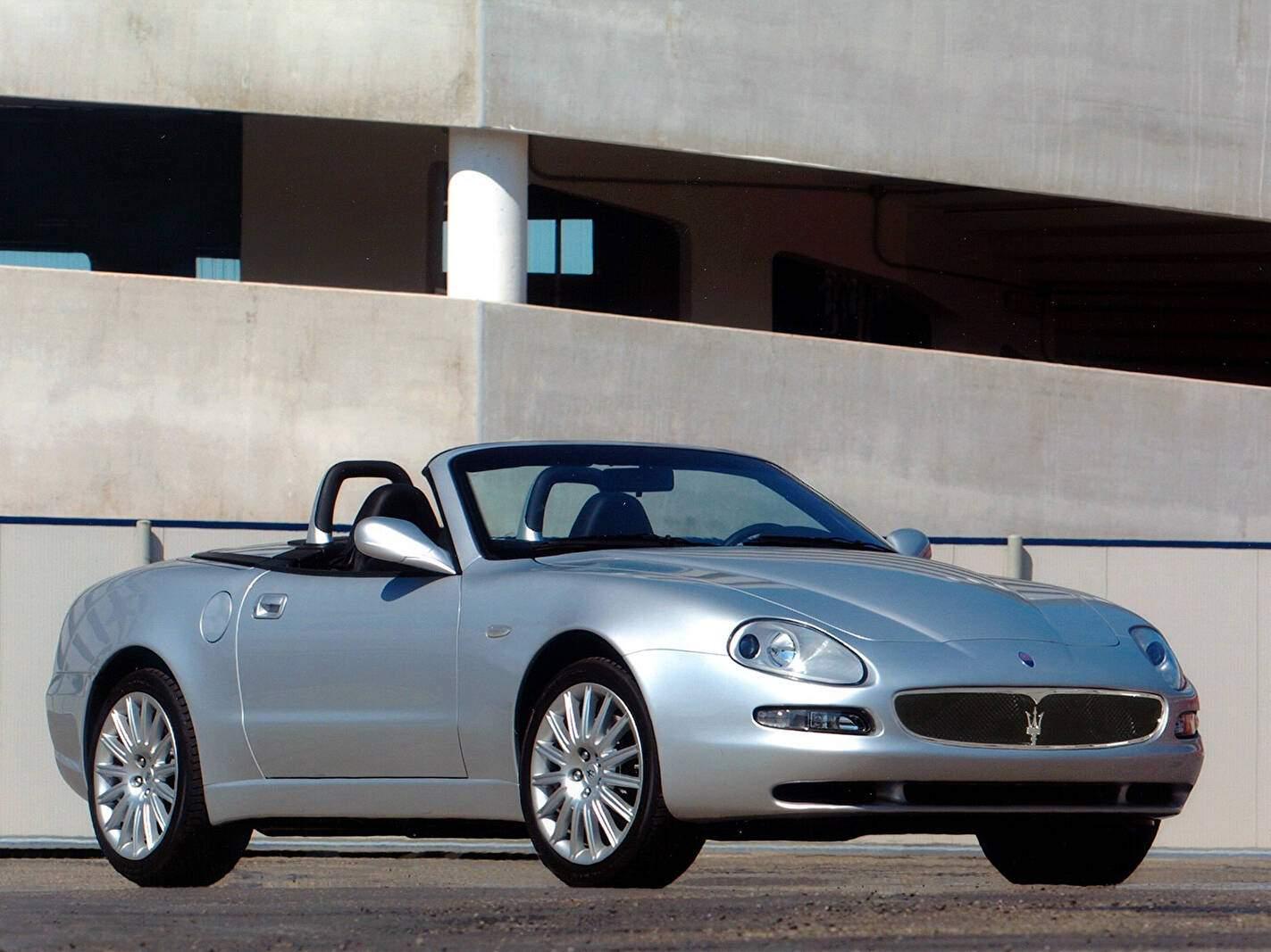 Fiche technique Maserati Spyder (2001-2007)