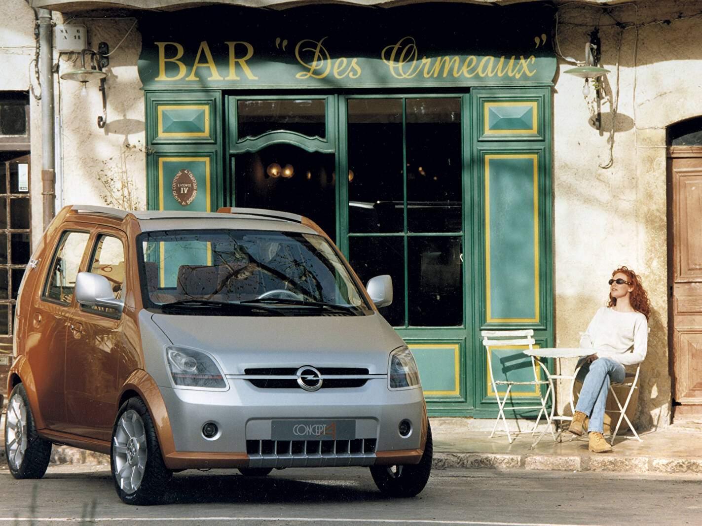 Opel Concept A (1999),  ajouté par fox58