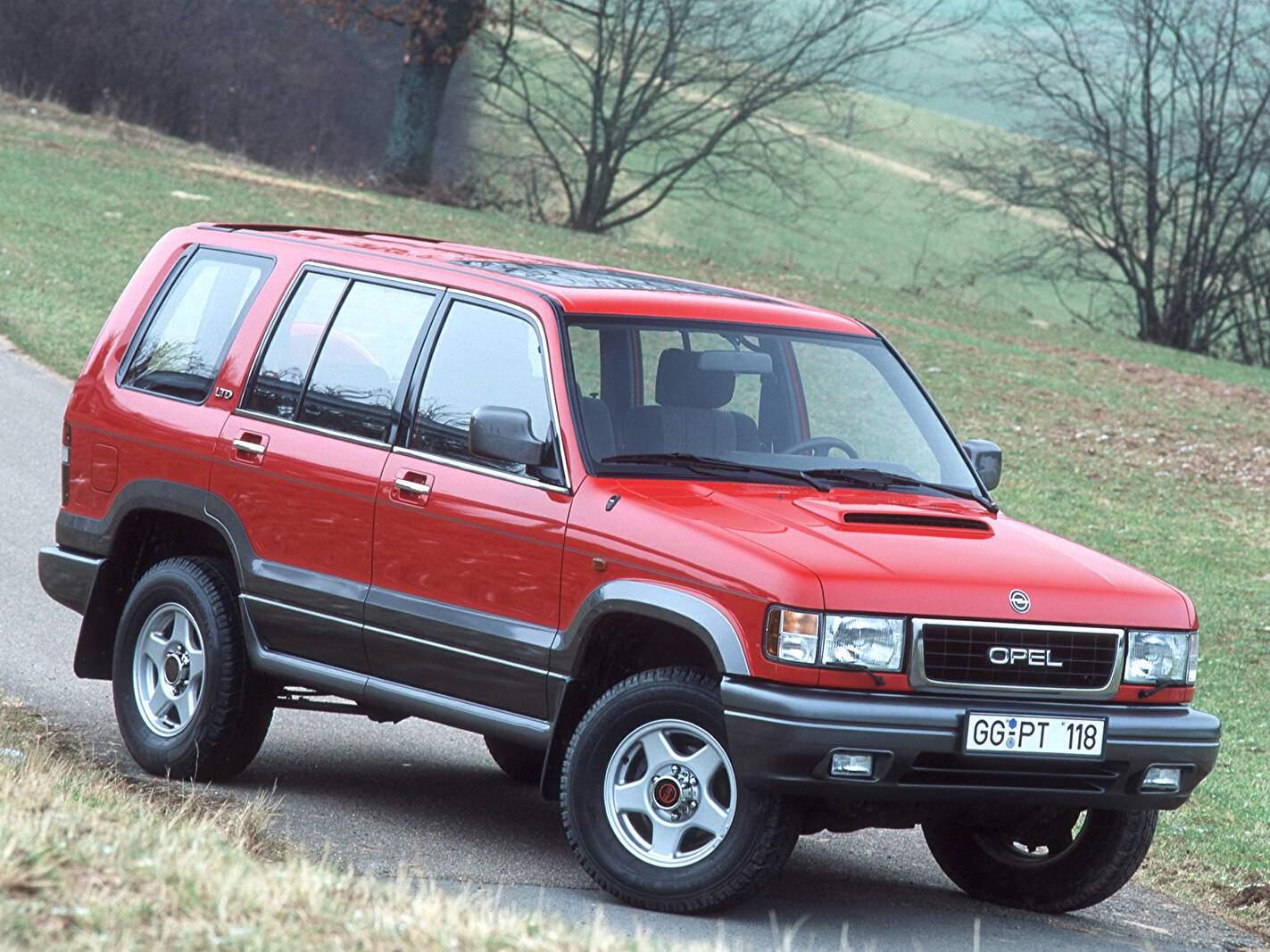 Opel Monterey 3.1 TDI 115 (1992-1998),  ajouté par fox58