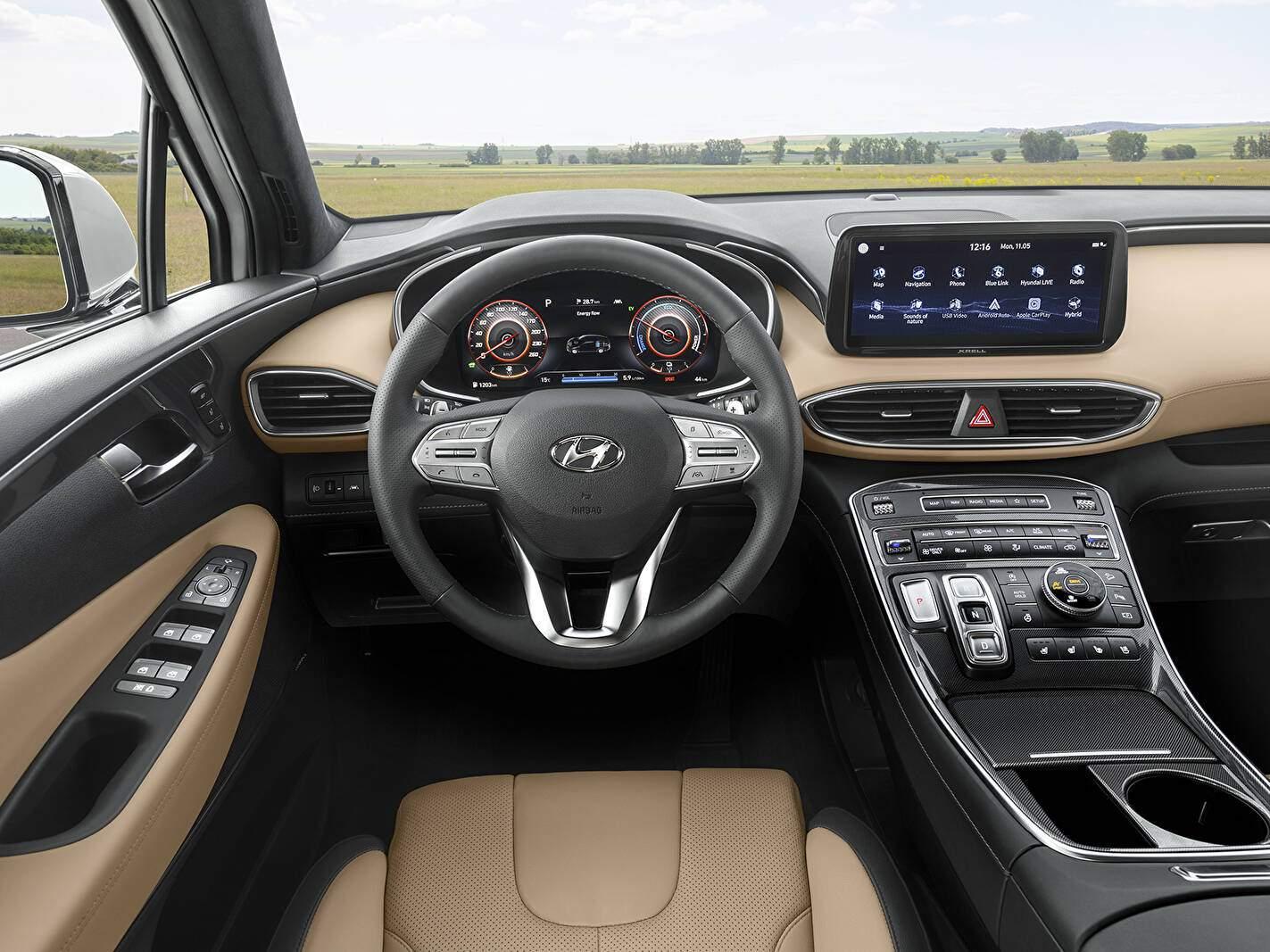 Hyundai Santa Fe IV Hybrid (TM) (2020),  ajouté par fox58