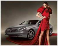 Mercedes-Benz CLS 350 CGI Grand Edition & Girl, ajouté; par MissMP