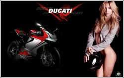 Ducati 1199 Panigale & Ariadne Artiles, ajouté; par MissMP